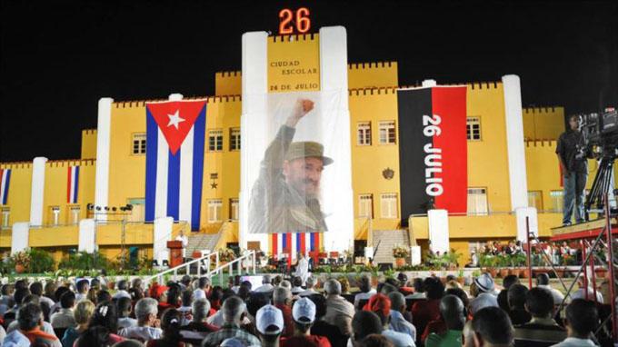 Mañana, Acto Central Nacional por el 26 de Julio