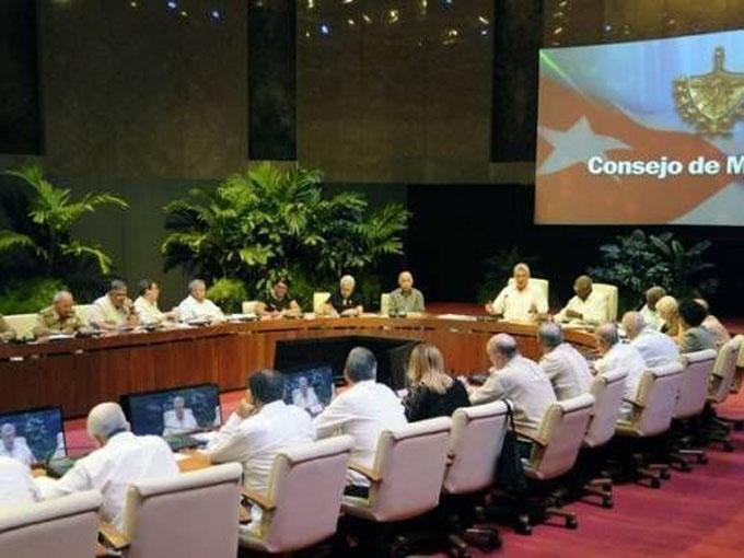 Efectuada reunión del Consejo de Ministros
