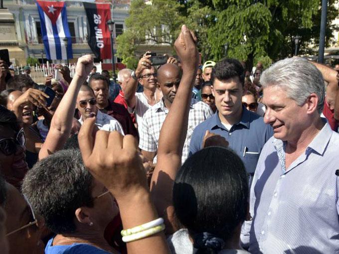 Continúa Díaz-Canel visita gubernamental a Matanzas