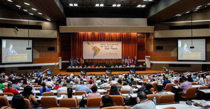 Foro de Sao Paulo debate sobre integración latinoamericana (+ fotos y videos)