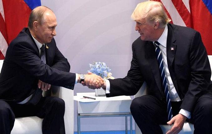 Prensa estadounidense difunde detalles de reunión Trump-Putin