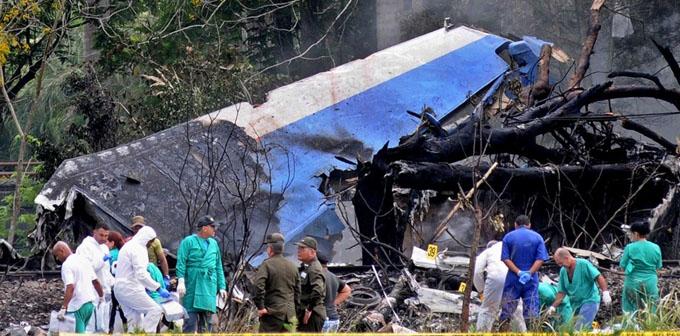 Comisión investigadora considera que aún es prematuro precisar causas del accidente de aviación en Cuba