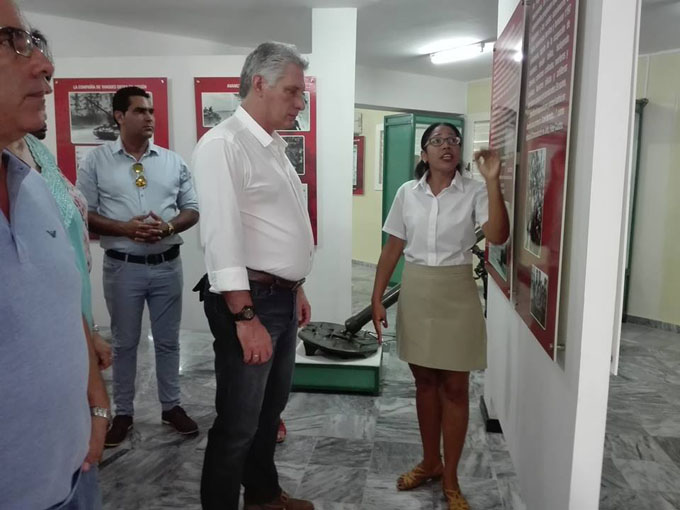 Inició Díaz-Canel visita de gobierno a provincia de Matanzas (+ fotos)