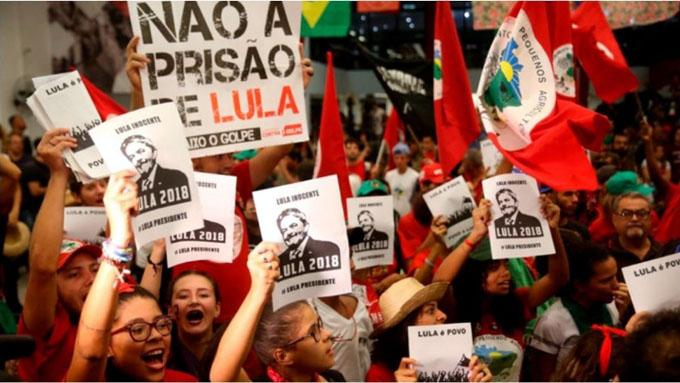 Por la libertad de Lula, inician hoy huelga de hambre en Brasilia