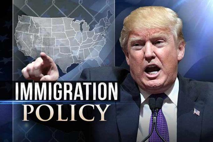 Trump redobla llamados a endurecer leyes de inmigración en EE.UU.
