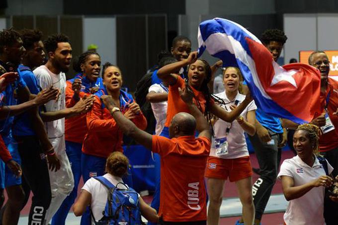 Cuba cierra segunda en Barranquilla 2018