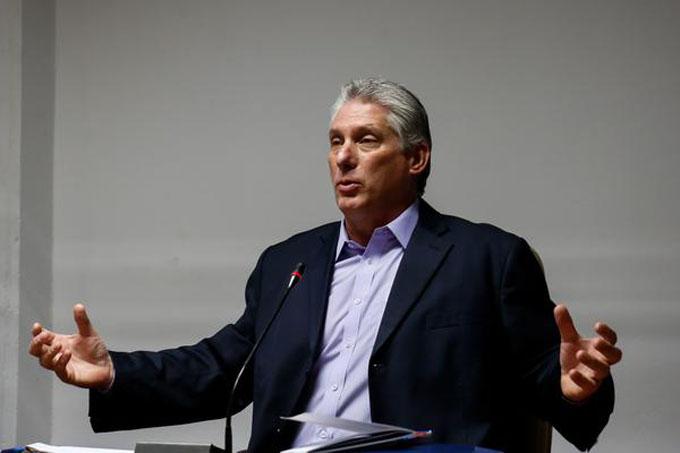 Exhorta Díaz-Canel a priorizar tareas de Gobierno en la comunidad