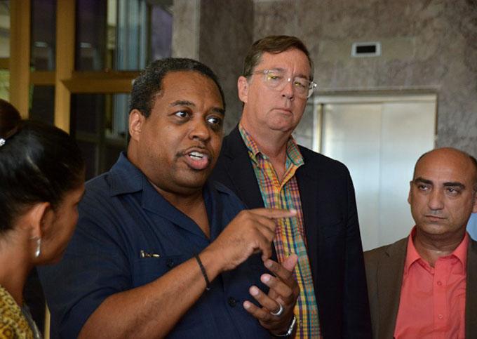 Líderes religiosos de Estados Unidos se reúnen con Canciller cubano