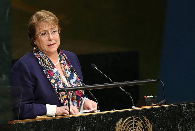 Bachelet nombrada alta comisionada de ONU para los derechos humanos