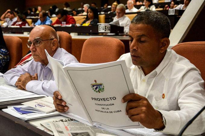 Diversidad de criterios enriquecerá nueva Constitución de Cuba
