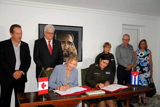 Cuba y Canadá fortalecen cooperación en materia policial