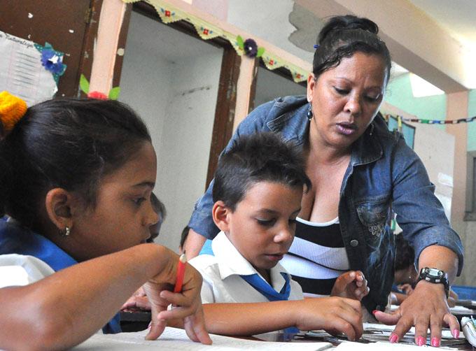Cuba se prepara para un mejor curso escolar