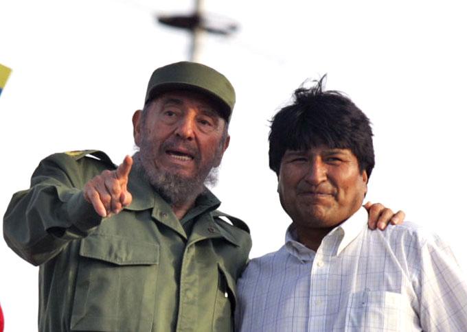 Recuerda Evo Morales apoyo de Fidel Castro a causa marítima boliviana
