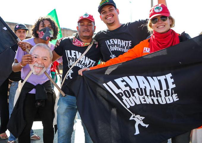 Marcha Nacional Lula Libre cierra cerco popular sobre Brasilia (+ fotos y videos)