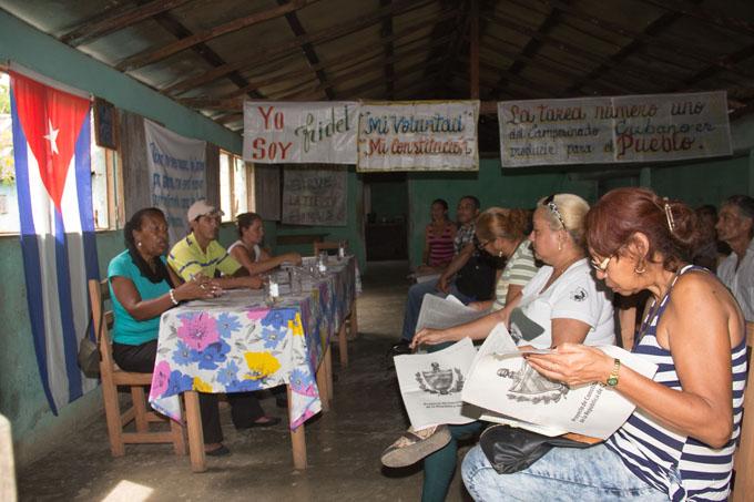 Debate el pueblo de Granma cómo hacer una mejor sociedad