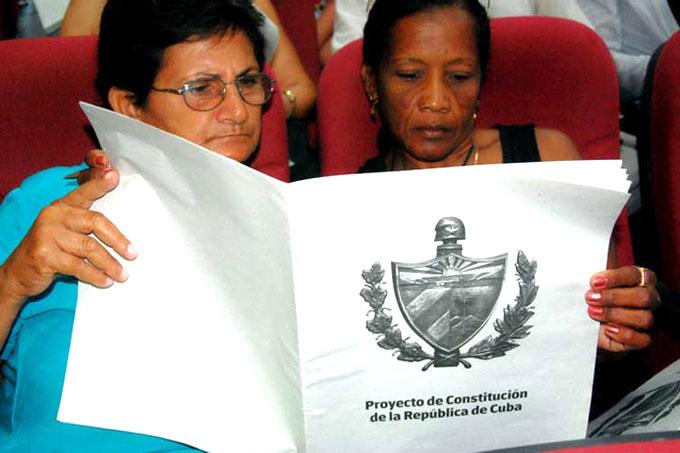 ¿Cómo será la consulta popular del Proyecto de Constitución para Cuba?