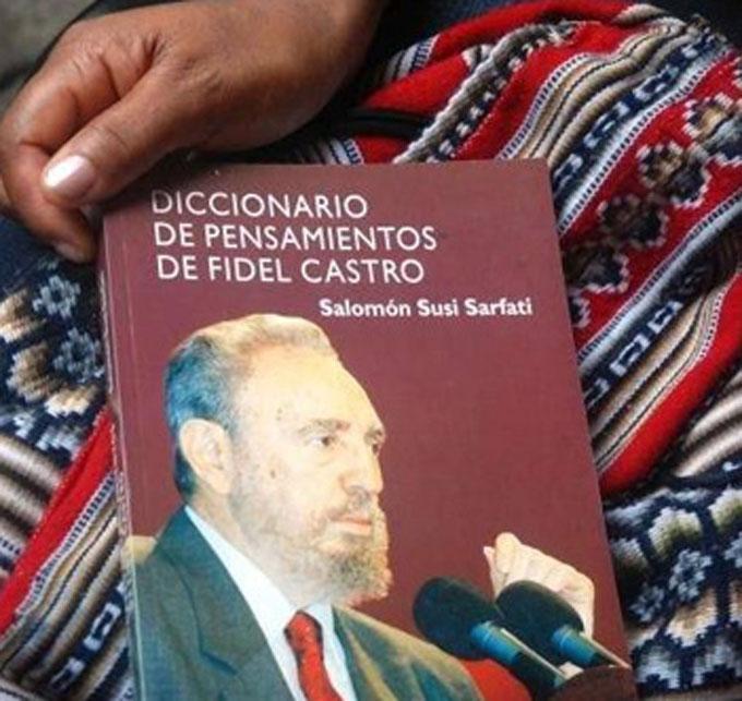 Bolivia: Presentarán libro sobre pensamiento de Fidel Castro