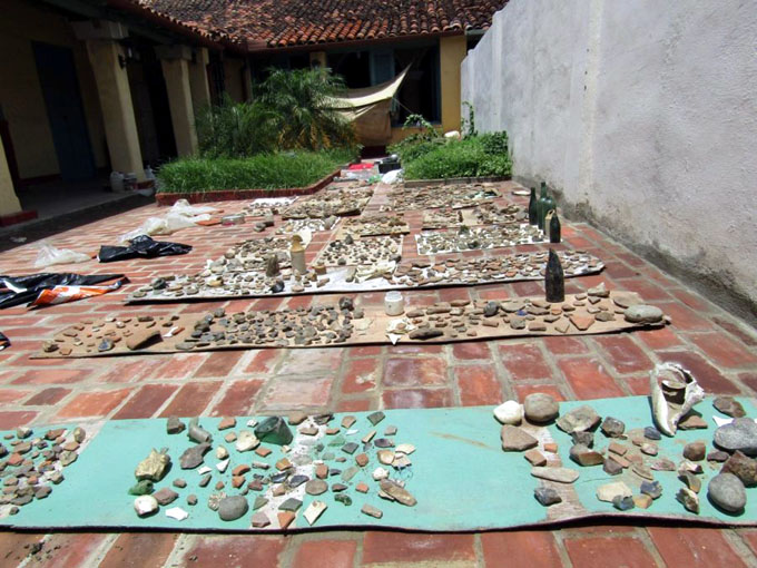 Hallan dentadura de concha en sitio aborigen de provincia cubana
