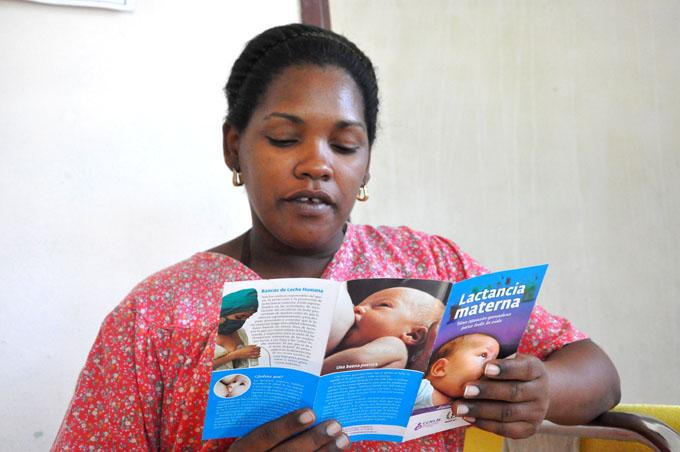 Inició en Granma Semana Mundial de Lactancia Materna