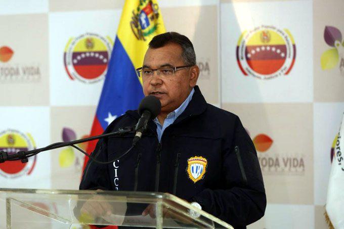 Ministro Néstor Reverol: Incautados bienes a financista del atentado contra presidente Maduro