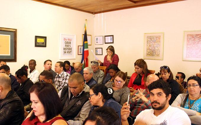 Debaten en Sudáfrica proyecto de nueva Constitución de Cuba