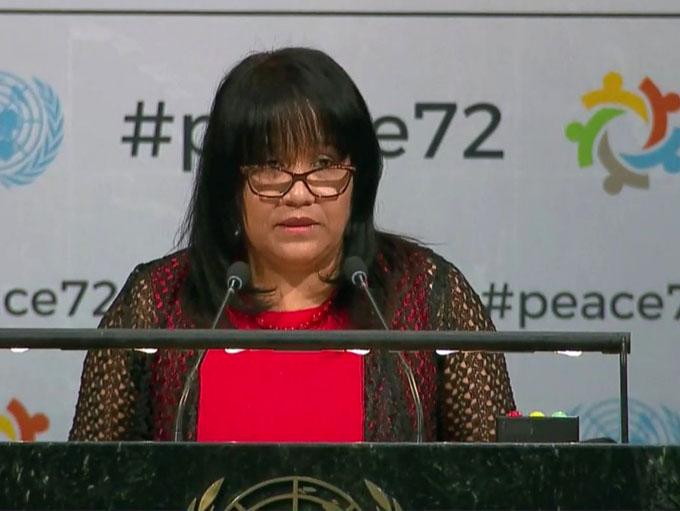 Embajadora cubana en ONU destaca proceso de consulta constitucional (+ video)