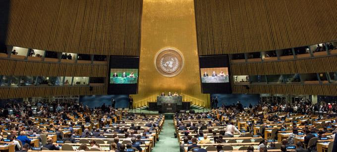 Abre 73 período de sesiones de la Asamblea General de ONU
