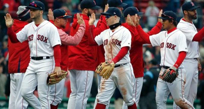 Medias Rojas, primer clasificado a playoffs de béisbol estadounidense