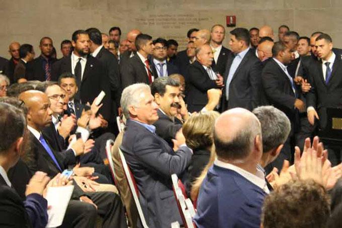 Díaz-Canel en la ONU: admiración y respeto hacia Cuba (+ fotos)