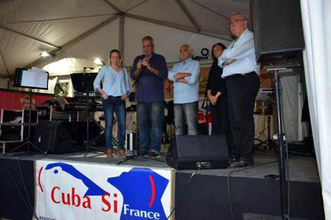 Fiesta de la Humanidad en Francia volverá a alzarse contra el bloqueo a Cuba