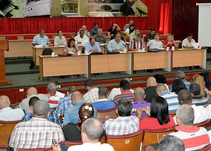 Sesionó Pleno del Comité provincial del Partido en Granma