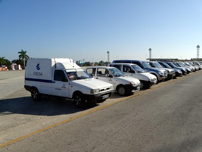 Realizan encuentro regional de transporte de Etecsa