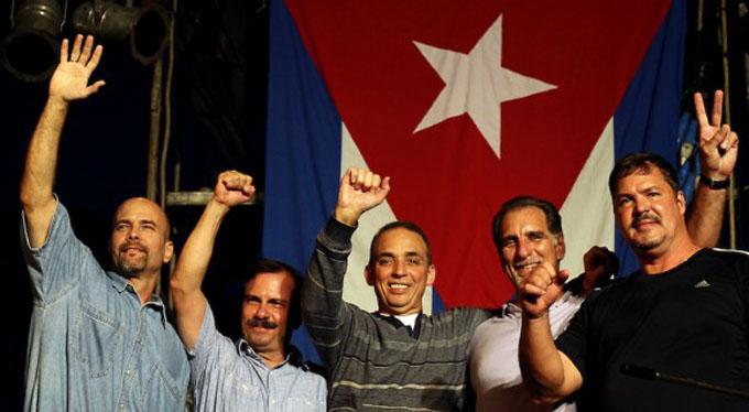 Al cine, la historia de los Cinco Héroes cubanos