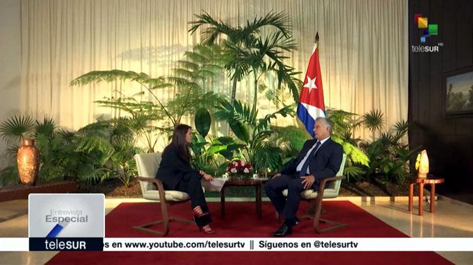 Díaz-Canel: Cuba está abierta al diálogo con EEUU pero sin prepotencias (+ video)