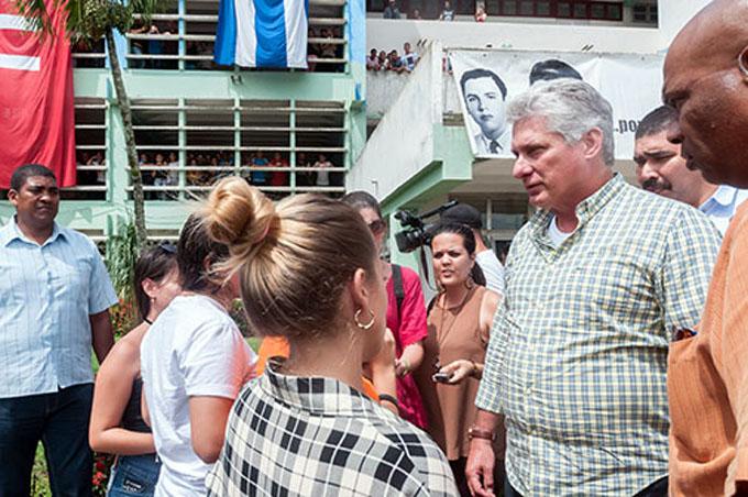 Destacó Díaz- Canel esfuerzos socioeconómicos de Pinar del Río