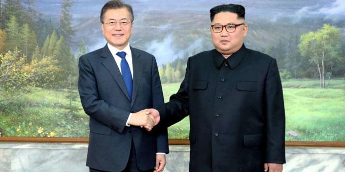 Presidentes de las dos Coreas concluyen primera ronda de consultas