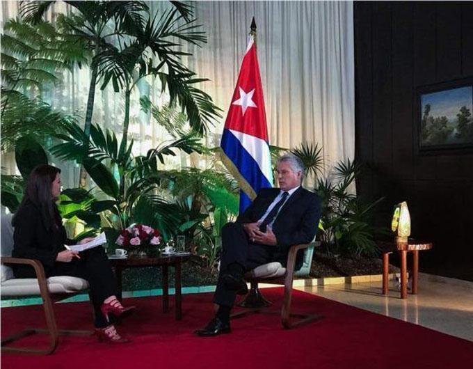 Telesur transmitirá el domingo en la noche entrevista con Presidente cubano