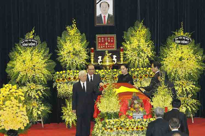 Vietnam tributa un sentido adiós al presidente Tran Dai Quang