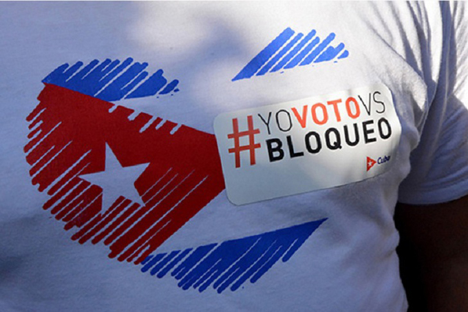 Universitarios cubanos exigen fin de bloqueo estadounidense (+ video)
