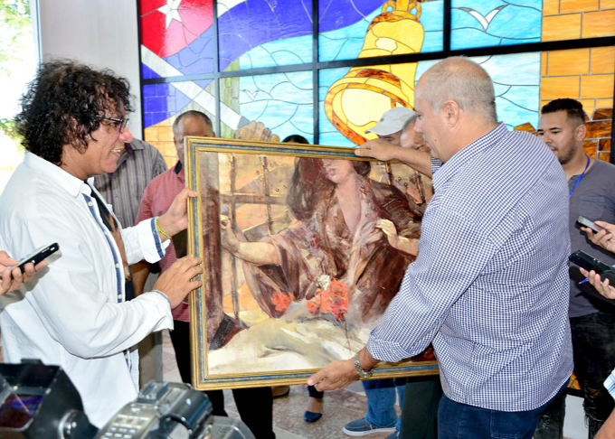 Ministro de Cultura de Cuba rinde homenaje a Carlos Manuel de Céspedes en La Demajagua (+ fotos)