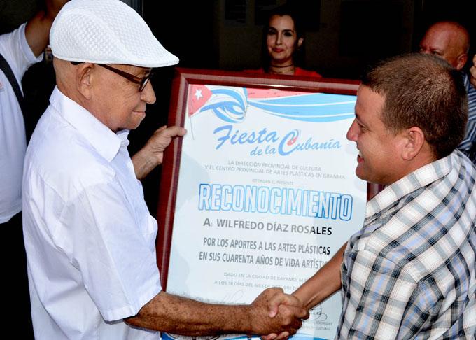 Wilfredo Díaz Rosales:  Homenaje a la consagración (+ fotos)