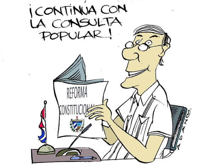 Cubanos en más de 100 países opinan sobre proyecto de Constitución