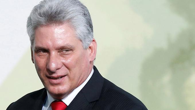 Presidente cubano asiste a jornada inaugural de Fihav 2018