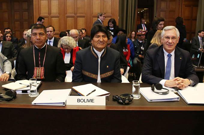 Destaca Evo Morales unidad de los bolivianos en demanda marítima (+ videos)