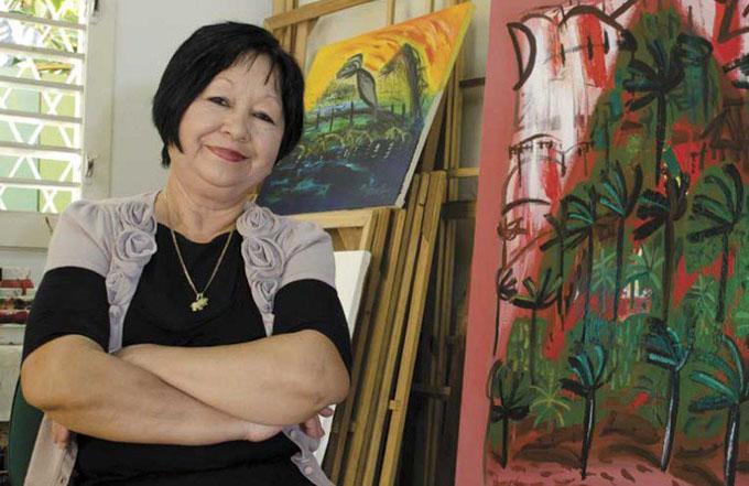 La plástica presente en fiesta de la cultura cubana