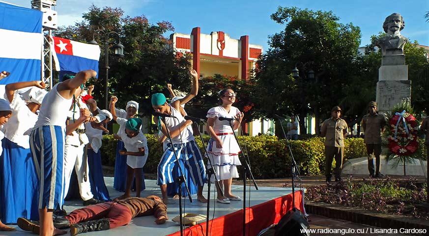 Rememoran en Holguín históricos sucesos del 10 de octubre de 1868 en La Demajagua (+ fotos)