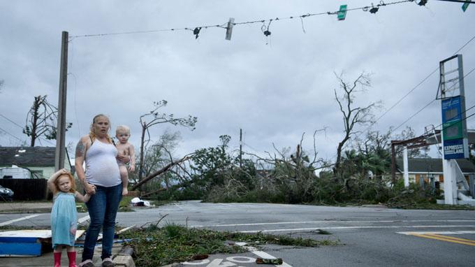 Reportan cuantiosos daños en sureste de EE.UU. por huracán Michael (+ fotos y video)