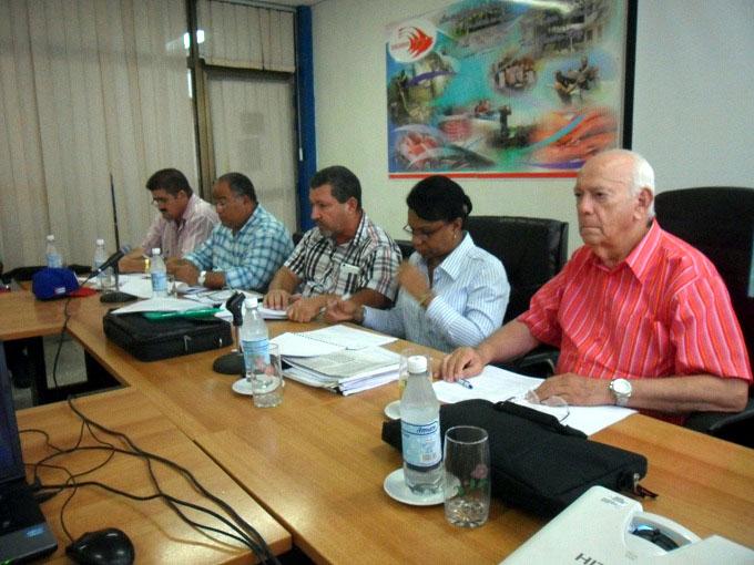 Evalúa Vicepresidenta del Consejo de Estado y de Ministros servicio de acueducto manzanillero