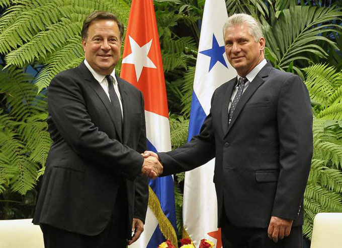 Presidente de Panamá continúa visita oficial a Cuba