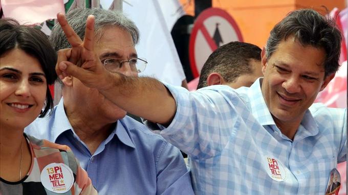 Queremos ser victoria de la resistencia, dice Haddad en Brasil